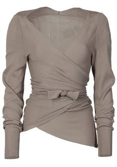 cute!  This would look great with a black pencil skirt.