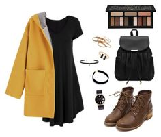 A fashion look from November 2016 featuring v-neck dresses, hooded coat and brown ankle booties. Browse and shop related looks. Kat Von D, Hyde, V Neck Dress, Kendra Scott, Ankle Booties, Fashion Looks, Shoe Bag, Coat, Polyvore