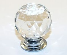 10 x Crystal Glass Clear Cupboard Door / Drawer Knobs *Mabel* 30mm Drawer Kitchen Silver , http://www.amazon.co.uk/dp/B00AFCL44O/ref=cm_sw_r_pi_dp_wLHdtb1AA8YXC