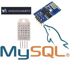 I will tell you how I did to get an to read data from and send it to an MYSQL database then view the data with HighChartsFeatures that I will add. Esp8266 Projects, Iot Projects, Hobby Electronics, Electronics Projects, Esp8266 Wifi, Arduino Wifi, Arduino Programming, Programming Languages, Linux