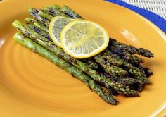 One of the best things I've ever made.  Asparagus grilled in bacon fat, sprinkled with sea salt, pepper, and lemon juice.