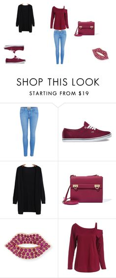 """""""The absolute teen style"""" by nora-simpson on Polyvore featuring Current/Elliott, Vans, Salvatore Ferragamo and Sydney Evan"""