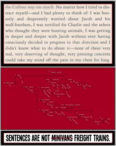 Ah, the atrocious grammar of the Twilight series. Vampire Tumblr, Twilight Series, Academic Writing, I Love Reading, I Tried, Forgiveness, My Eyes, Sentences, New Books