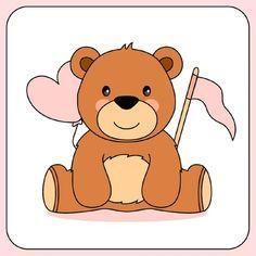 Hand drawn teddy bear for valentine day Free Vector Blue Teddy Bear, Cute Teddy Bears, Cartoon Toys, Cute Cartoon, Bear Watercolor, Baby Shower Templates, Bear Valentines, Valentines Day Background, Bear Face
