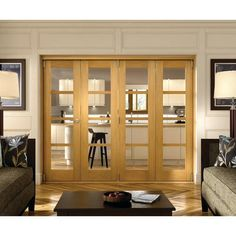 Belgrave 4 Light Internal Folding Doors - Internal Folding \u0026 Sliding Doors - Interior Timber Doors