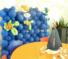 AZ Balloon Artists Blog about Balloon Events in Phoenix Arizona and surrounding areas: Finding Nemo Balloon Party