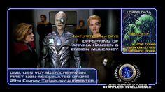 "#STARFLEET INTELLIGENCE | #Borg drone ""One"" | #StarTrek"