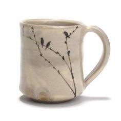 birds \ ceramic art \ mug