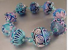 Jan Harris - Milagritos Glass Beads #lampwork #beads