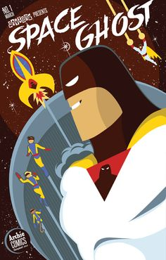 An awesome reinterpretation of Cartoon Networks Presents Space Ghost #1 (From coverdblog.blogspot.com)