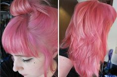 Tiny Tangerines: This is how I pink my hair
