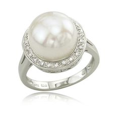 you know. I'm pretty sure I would be fine with a pearl wedding ring...