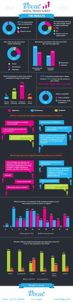 Digital Trends Survey 2013 [INFOGRAPHIC] #digital#trends
