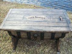 Pin by Rudy Schenek on Jack Daniel\'s Barrel Furniture Ideas ...