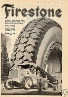 Vintage Industry Ads of the (Page American Gas, Firestone Tires, Old Pub, Truck Tyres, Classic Trucks, Vintage Ads, Motocross, Cool Cars, Tired