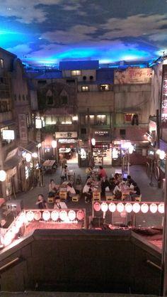 Japan's Shin-Yokohama Ramen Museum. Comfort food in the winter!