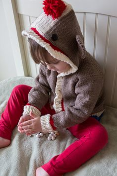 Knitting Pattern For Sock Monkey Sweater : 1000+ images about Sock Monkey Crazy & more..... on Pinterest Sock monk...