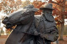 General Longstreet's Memorial at Gettysburg ~ photograph by Mike Lynaugh