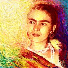 Frida In Color of Joy by Shubnum Gill