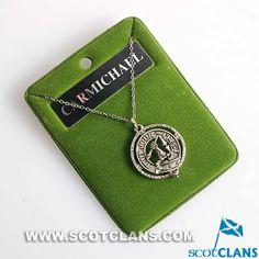 Carmichael Clan Crest Pendant