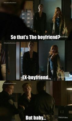 #Shadowhunters #1x07 HAHAHAHAH this must be weird to people who haven't seen this