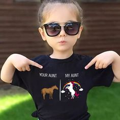 Your Aunt My Aunt Unicorn Shirt T-Shirt Years Old Aunt Niece Matching Tees Funny T-Shirt Crazy Aunt Gift Aunt Shirt Unicorn Niece Shirt - Cool Shirts - Ideas of Cool Shirts - Your Aunt My Aunt Unicorn Shirt T-Shirt Years Old Aunt Aunt Meme, Aunt Shirts, Aunt Onsies, Onesies, Cuadros Diy, Niece Gifts, Baby Gifts, Nephew And Aunt, Crazy Aunt