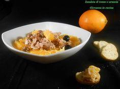 Insalata di tonno e arancia, cipolla, delizie vaticane, giovanna in cucina