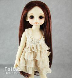 Fatiao New Dollfie Yo-SD 1/6 BJD Dolls Wig 6-7 inch | Etsy