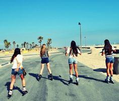go rollerblading with my besties #summer2013
