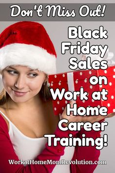 Nearly every online training program I trust and have shared with my readers over the past several years is offering special deals on Black Friday! #BlackFriday #workathome #workfromhome #career #makemoney #makemoneyfromhome #workathomejobs #workfromhomejobs #legitimateworkfromhome #extramoney #extracash #sidegig #sidehustles