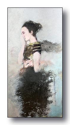 oups.......toile de 50/100cm A voir à la Galerie ALBANE à Nantes