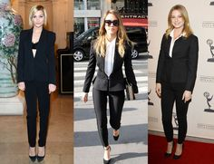 Leigh Lezark, Jessica Alba and Emily Vancamp: Spotted in Black Skinny Pantsuits This Week (It's a Trend, So Let's Shop Some!)