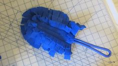 A pattern for making a swiffer type duster from fleece- no more refills!