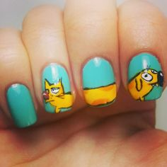 CatDog Nails!! You guys used to love that show :) @Marinea Duppstadt @Lakenn Babb
