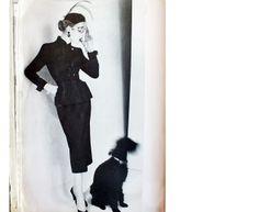 A la Recherche des Modes Perdues et Oubliées: L'Officiel - Octobre 1951