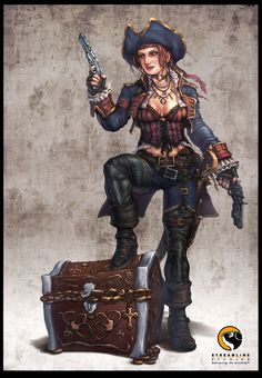 Victoria- Pirate Chick Updated by *HecM on deviantART