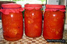 Pomidory do słoików, na zimę