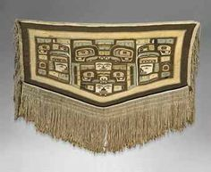 """The """"missing"""" Ebbetts Chilkat was recently up for auction at Christie's...."""