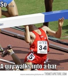 So, a guy walks into a bar…