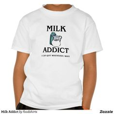Milk Addict T Shirt