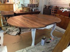 painted vintage dining room suites - Google Search