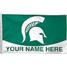 Wincraft Michigan State Spartans Personalized 3x5 Flag