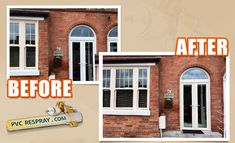 Respray Ireland service that you will love to take from us. We have experienced and dedicated team. They will respray the color you choose and make your home more beautiful. Get in touch with us for more details. Pvc Windows, Ireland, Make It Yourself, Outdoor Decor, Touch, Paint, Beautiful, Color, Home Decor