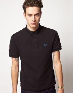 simple Fred Perry's Hidden Pop Polo