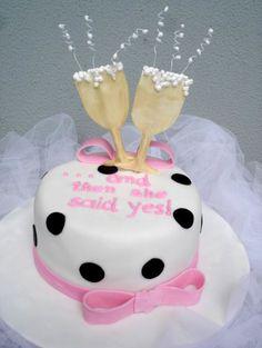Zoe's bachelorette cake!