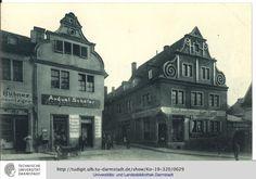 Darmstadt, Eingang zur Obergasse