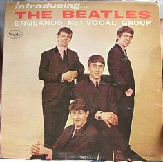 introducing... the beatles.  I actually have this album framed hanging on bedroom wall.