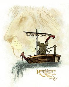 Reepicheep by creator of Mouse Guard. Illustrations, Illustration Art, Nos4a2, Narnia 3, Science Fiction, Mystery, Cs Lewis, Chronicles Of Narnia, Fantasy