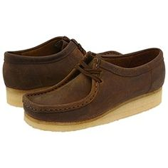 """These would be cute with jeans and a plaid oxford shirt- maybe the """"university"""" look? Clarks @Zappos"""