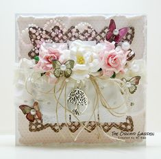 The Orchid Garden Orchids Garden, I Card, Decorative Boxes, Shabby Chic, Home Decor, Bouquets, Flowers, Chic, Homemade Home Decor